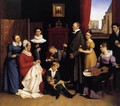 The Begas Family 1821 - Carl the Elder Begas
