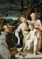 The Holy Family c. 1530 - Girolamo Mazzola Bedoli