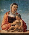 Madonna with the Child 1460-64 - Giovanni Bellini