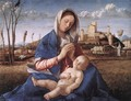 Madonna of the Meadow (Madonna del prato) 1505 - Giovanni Bellini
