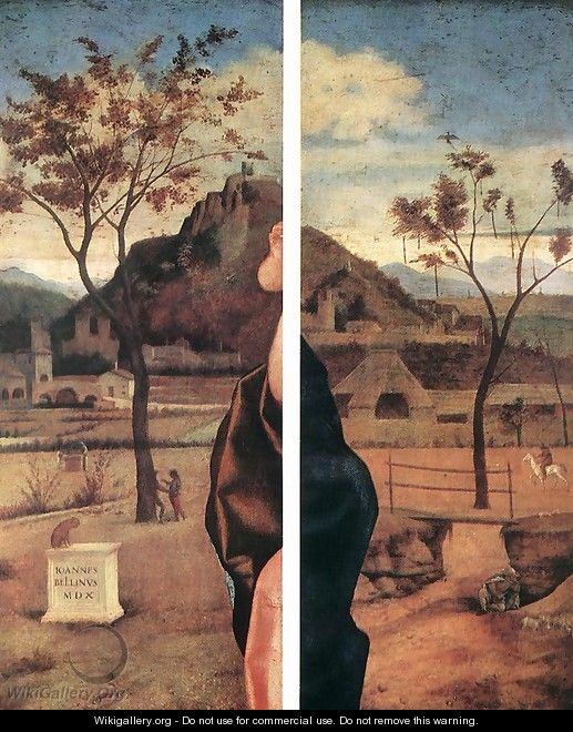 Madonna and Child Blessing (details) 1510 - Giovanni Bellini