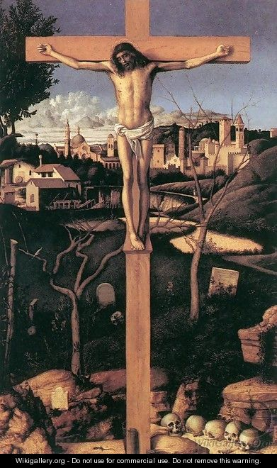 Crucifixion 1501-03 - Giovanni Bellini