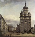 The Kreuzkirche in Dresden 1747-56 - Bernardo Bellotto (Canaletto)