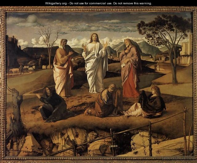 Transfiguration of Christ c. 1487 - Giovanni Bellini