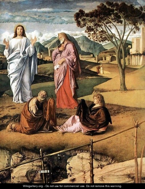 Transfiguration of Christ (detail 2) c. 1487 - Giovanni Bellini