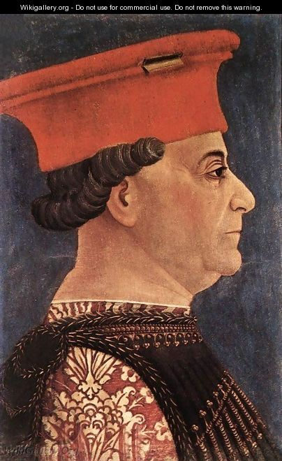 Portrait of Francesco Sforza c. 1460 - Leon-Auguste-Adolphe Belly