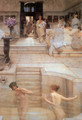 A Favorite Custom, 1909 - Sir Lawrence Alma-Tadema