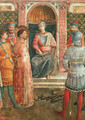 Saint Lawrence before Valerianus (with Benozzo Gozzoli), 1447-49 - Angelico Fra