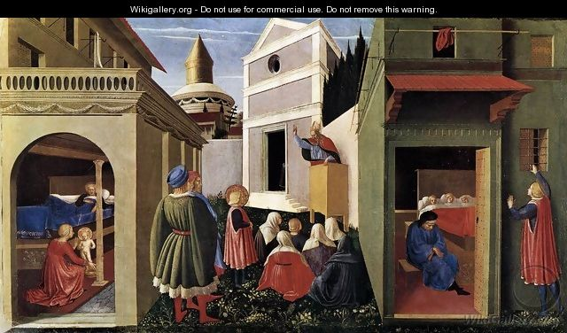 The Story of St Nicholas 1437 - Angelico Fra
