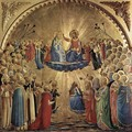 The Coronation of the Virgin 1434 - Angelico Fra
