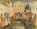 Sepulchring of Saint Cosmas and Saint Damian 1438 - Angelico Fra