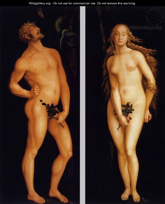 Adam and Eve 1524 - Hans Baldung Grien
