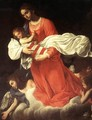The Virgin and the Child with Angels - Giovanni Baglione