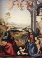 The Holy Family with St John the Baptist 1506-07 - Fra Bartolomeo