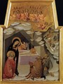 Nativity and Adoration of the Shepherds c. 1383 - Manfredi de Battilor Bartolo Di Fredi Fredi