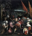 The Road to Calvary 1575 - Jacopo Bassano (Jacopo da Ponte)