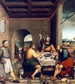 Supper at Emmaus c. 1538 - Jacopo Bassano (Jacopo da Ponte)