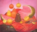Still Life with watermelon 1976 - Fernando Botero