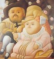 Rubens and his Wife 1965 - Fernando Botero