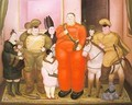 Offcial Portrait of the Military Junta 1971 - Fernando Botero
