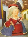 Louis XVI And Marie Antoinette on a Visit to Medellin Colombia 1990 - Fernando Botero