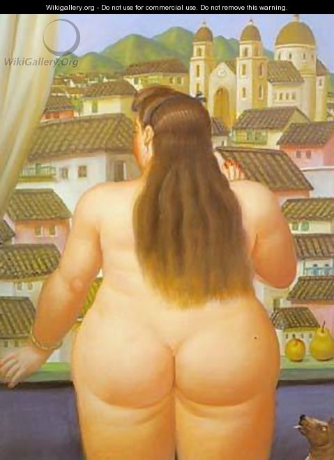 Woman at the Window 1995 - Fernando Botero