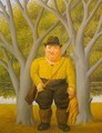 The Hunter 1997 - Fernando Botero