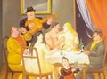 The Dinner 1994 - Fernando Botero