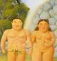 The Couple 1994 - Fernando Botero