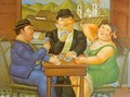 The Card Player 1996 - Fernando Botero