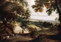 Wooded Landscape - Jacques d