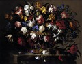Basket of Flowers 1671 - Juan De Arellano