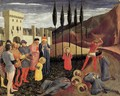 Beheading of Saint Cosmas and Saint Damian 1438 - Angelico Fra