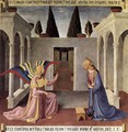 Annunciation 1450 - Angelico Fra