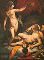 Amor and Psyche - Jacopo Zucchi