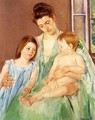 Young Mother And Two Children - Mary Cassatt