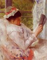 Woman Reading Aka Lydia Cassatt - Mary Cassatt