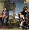 The Annunciation 1512 - Andrea Del Sarto