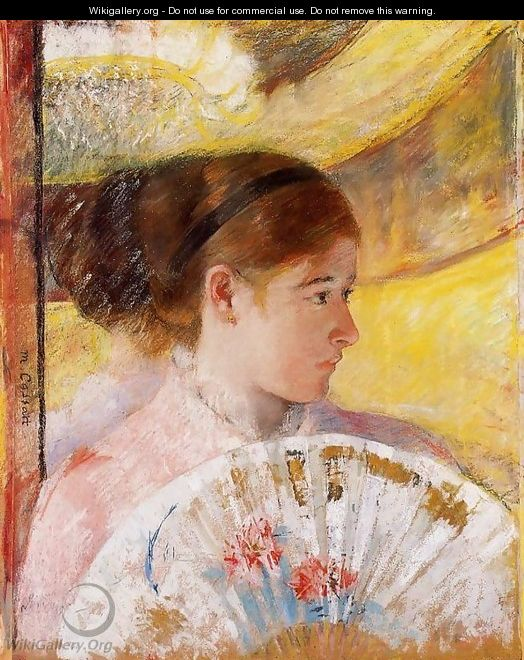 At The Theater - Mary Cassatt