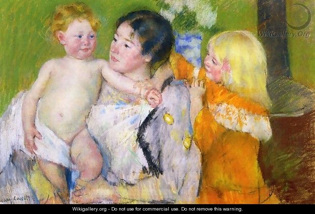 After The Bath - Mary Cassatt
