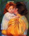 Maternal Kiss - Mary Cassatt