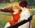 In The Park - Mary Cassatt