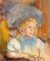 Simone In Plumed Hat - Mary Cassatt