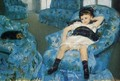 Portrait Of A Little Girl - Mary Cassatt