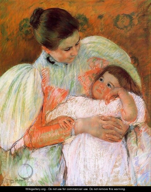 Nurse And Child - Mary Cassatt