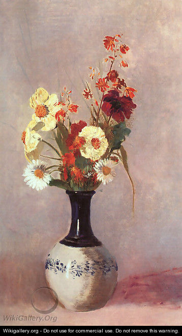 Vase Of Flowers15 - Odilon Redon