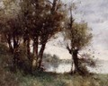 The Banks Of The Vienne - Paul Trouillebert