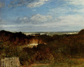 A View Towards The Seine From Suresnes - Constant Troyon