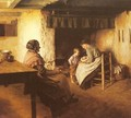 The New Arrival - Walter Langley