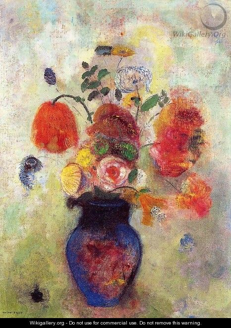 Bouquet Of Flowers2 - Odilon Redon